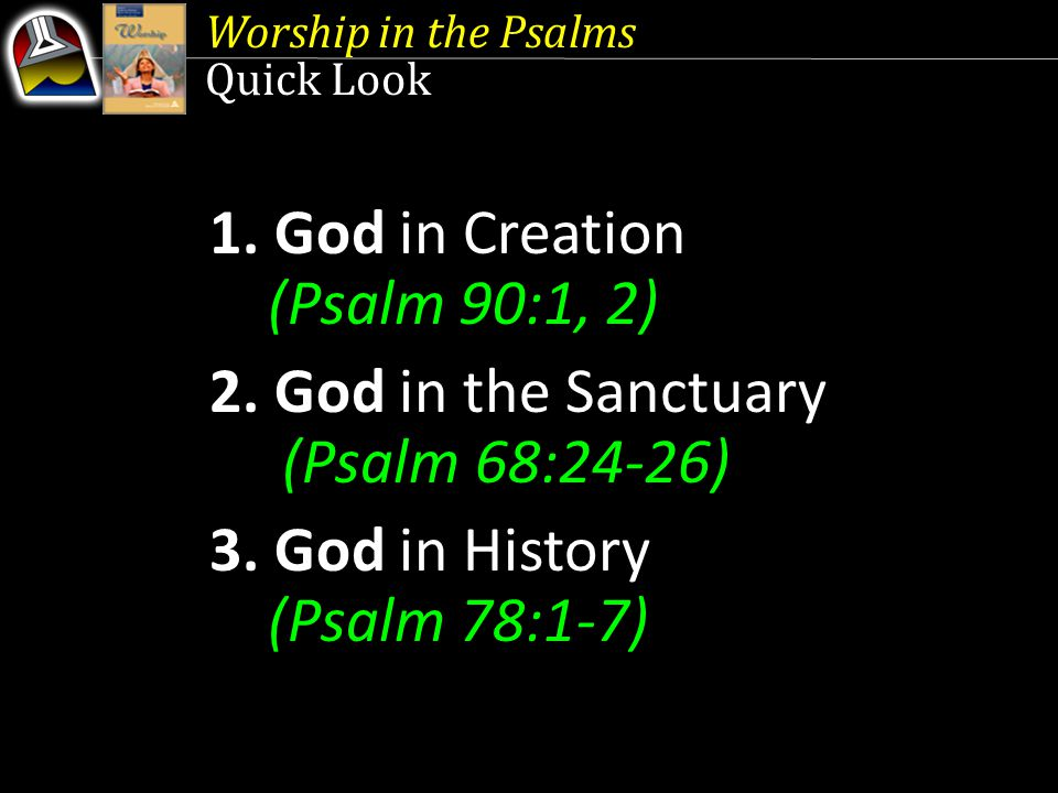 3.God in History Lest We Forget {88} ONE of the ways God reveals Himself is through history.