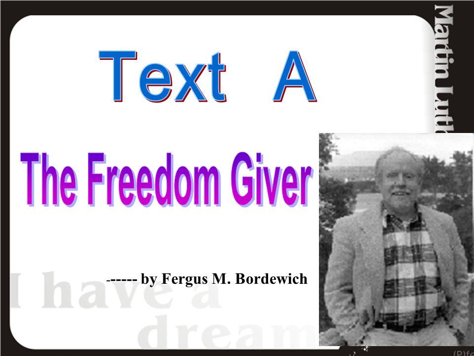 ----- by Fergus M. Bordewich - ----- by Fergus M. Bordewich