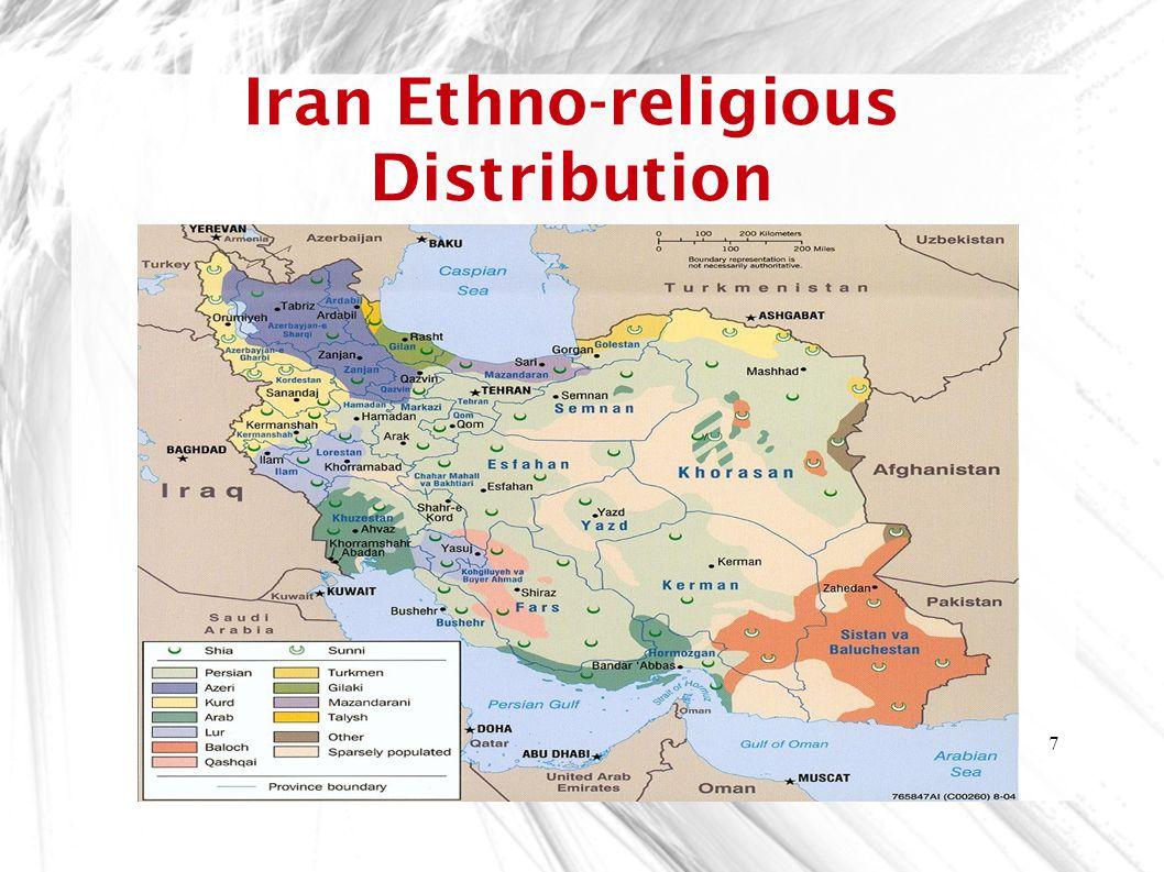 7 Iran Ethno-religious Distribution