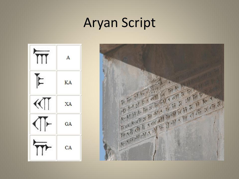 Aryan Script