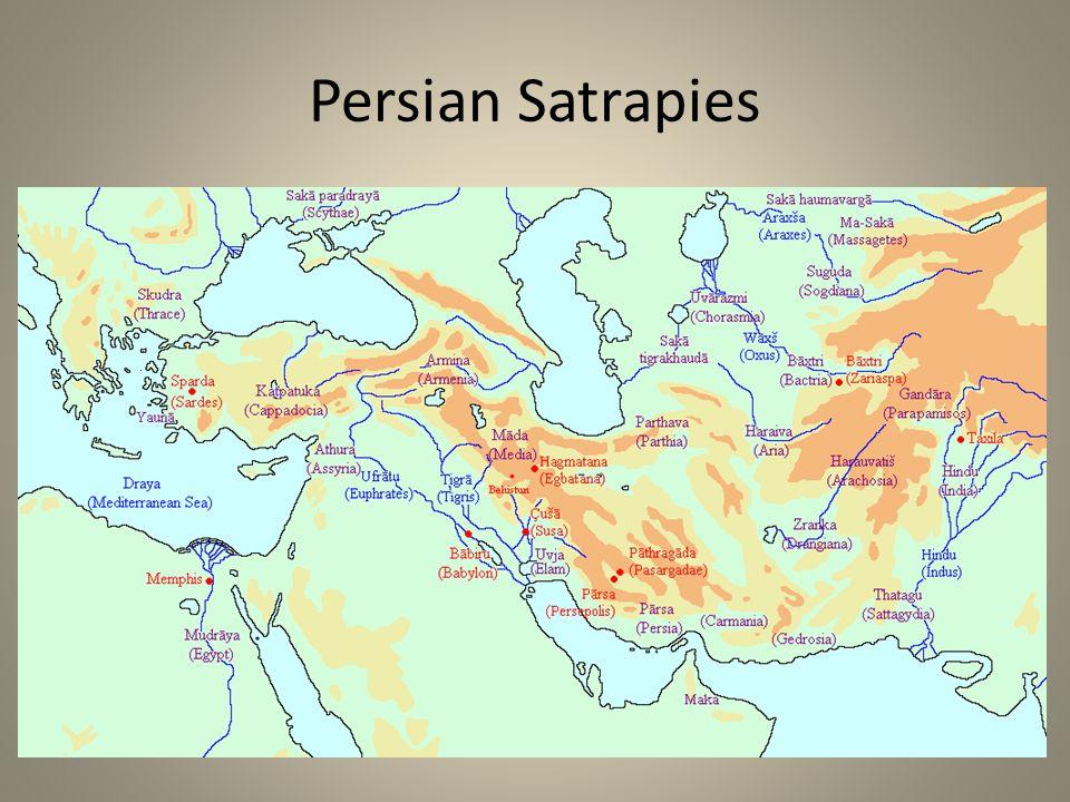 Persian Satrapies