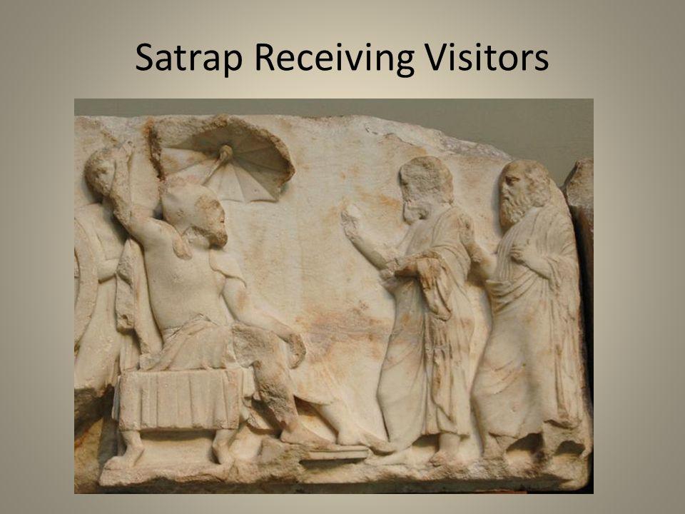 Satrap Receiving Visitors