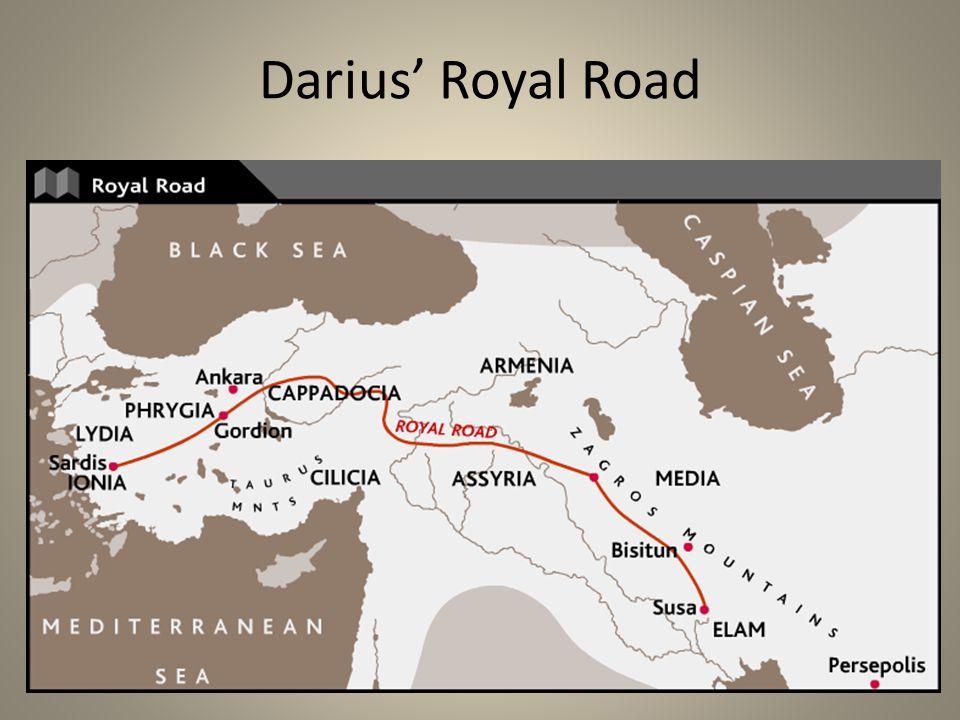 Darius' Royal Road