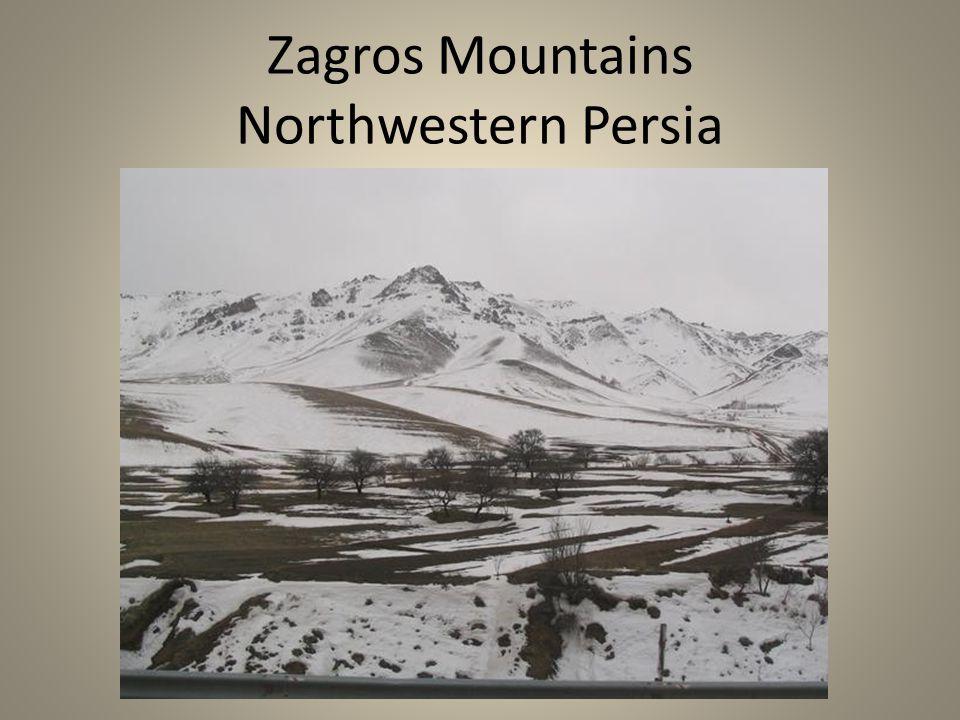Zagros Mountains Northwestern Persia