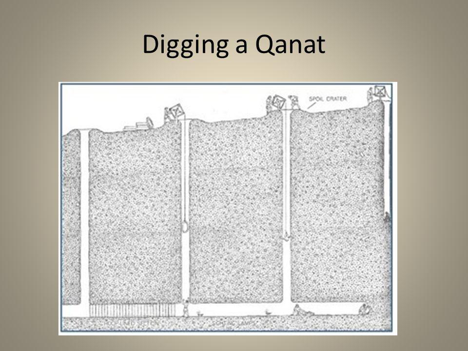 Digging a Qanat