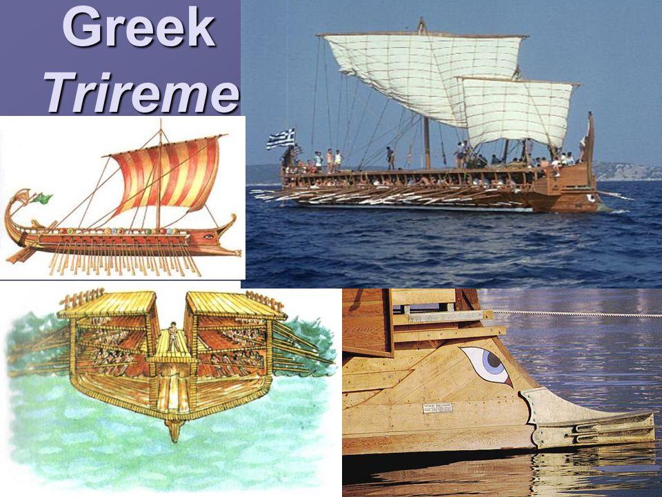 Greek Trireme