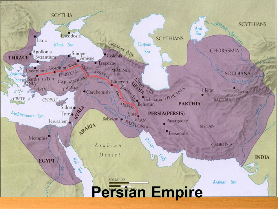 Persia Becomes an Empire  Persians were nomadic people, they were constantly moving  Persians would often fight other people  The Medes took over Persia and ruled for 150 years  Persians were nomadic people, they were constantly moving  Persians would often fight other people  The Medes took over Persia and ruled for 150 years