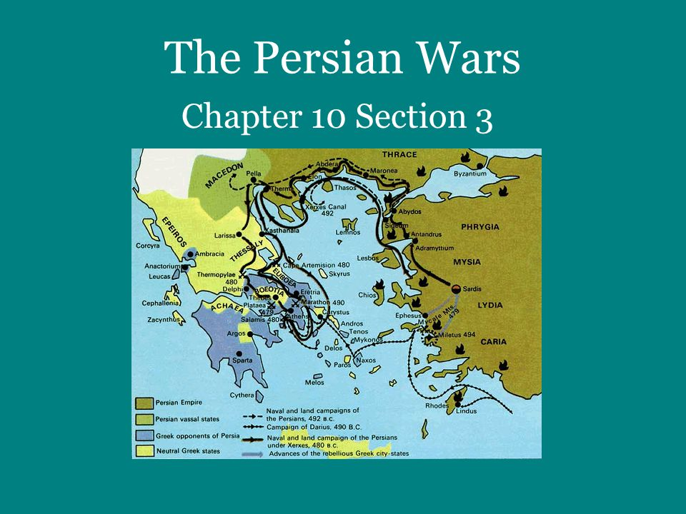 I.Background: Why did the war between Greece and Persia start?