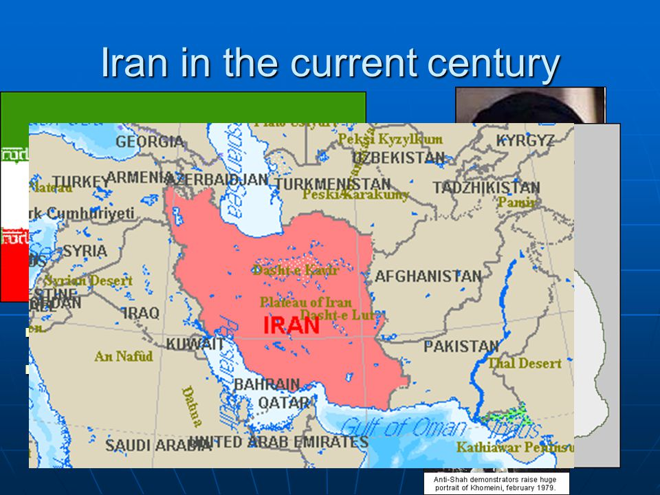 Iran in the current century Pahlavi era (1920-1978) Pahlavi era (1920-1978) Islamic Revolution (from Imperial to Islamic Republic) Islamic Revolution