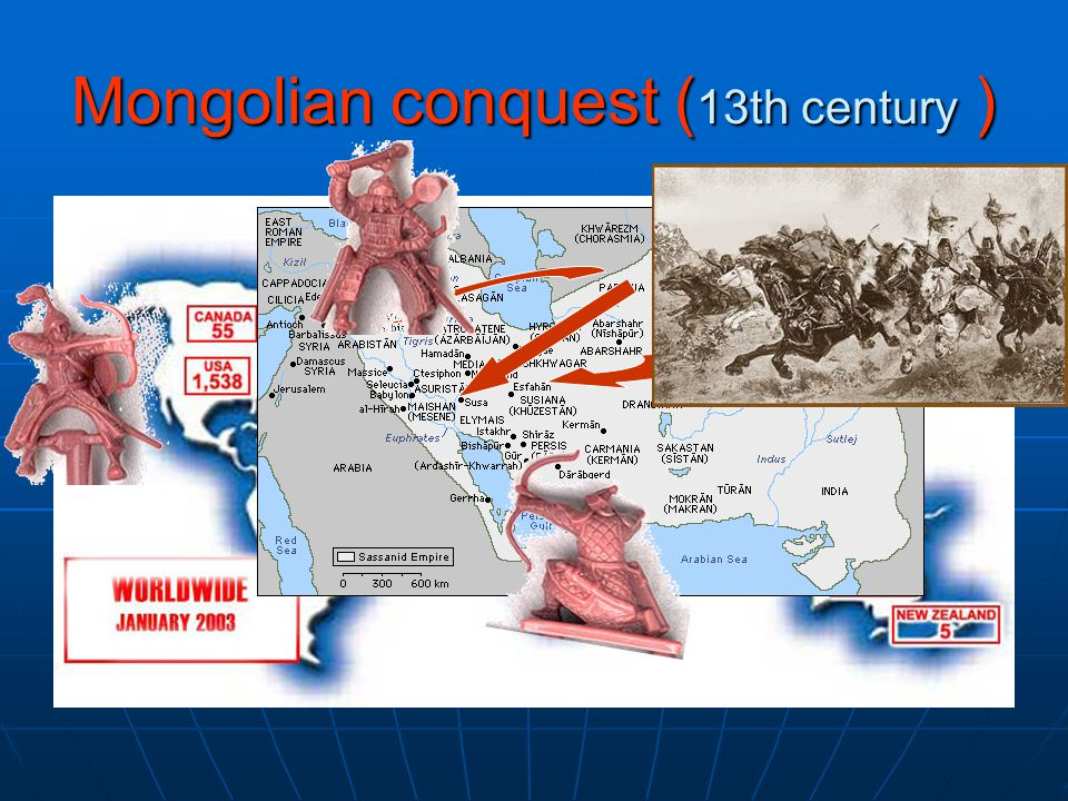 Mongolian conquest ( 13th century )