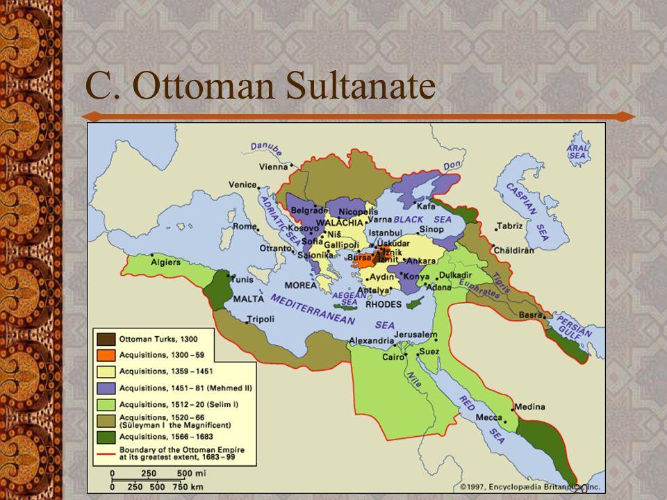 C. Ottoman Sultanate 20