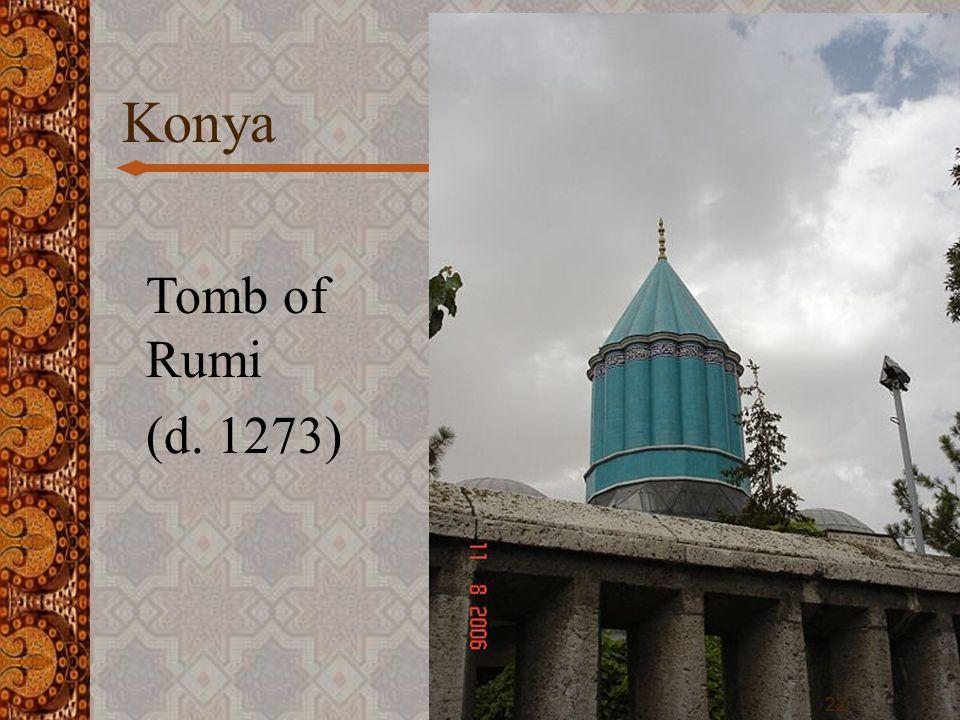 Konya 22 Tomb of Rumi (d. 1273)