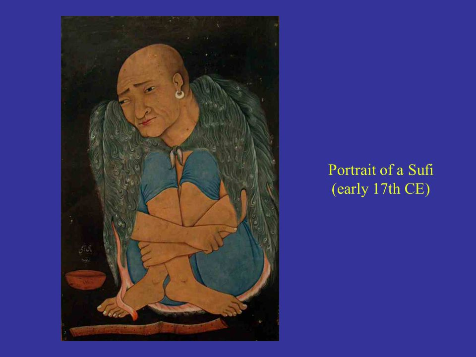 Portrait of a Sufi (early 17th CE)