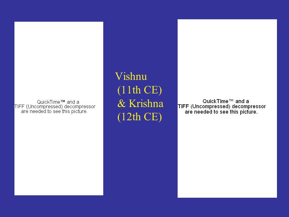 Vishnu (11th CE) & Krishna (12th CE)