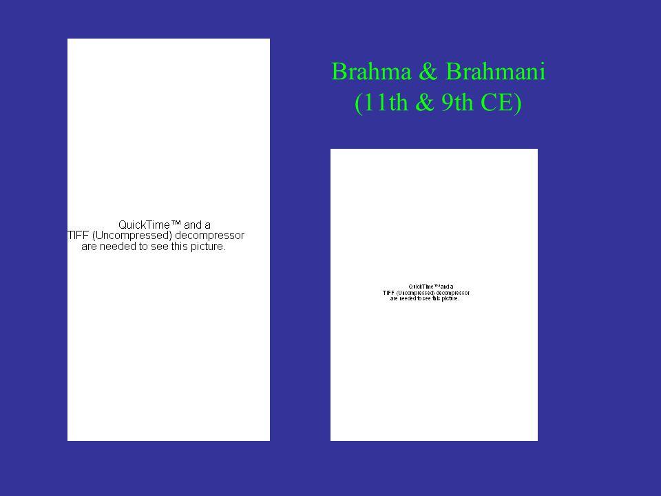 Brahma & Brahmani (11th & 9th CE)
