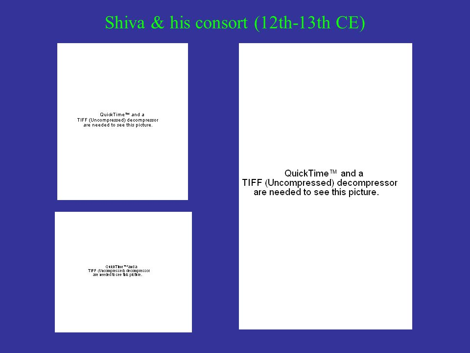 Shiva & his consort (12th-13th CE)