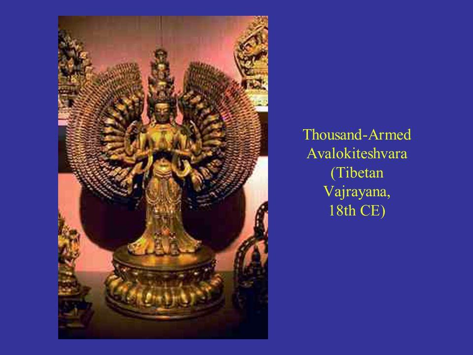Thousand-Armed Avalokiteshvara (Tibetan Vajrayana, 18th CE)