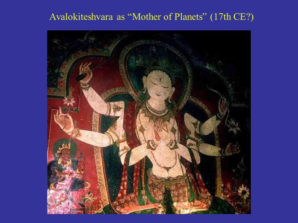Avalokiteshvara as Mother of Planets (17th CE )