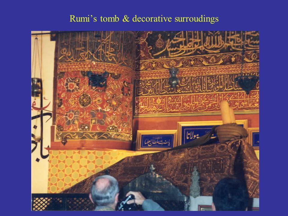 Rumi's tomb & decorative surroudings