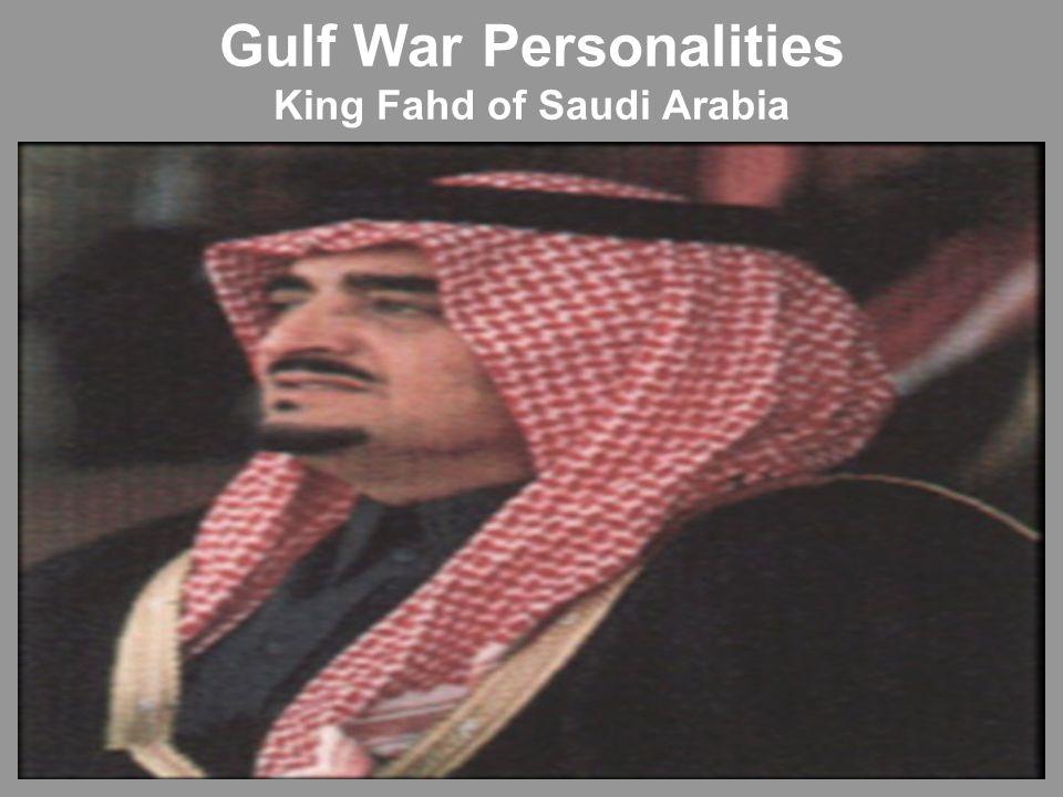 Gulf War Personalities King Fahd of Saudi Arabia