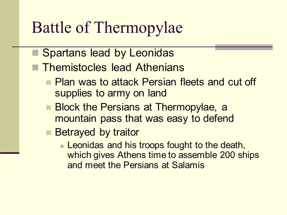 Battle at Salamis Greeks attack at the strait of Salamis.