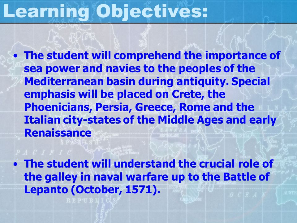 Early Naval Powers The Greeks The Persians The Romans