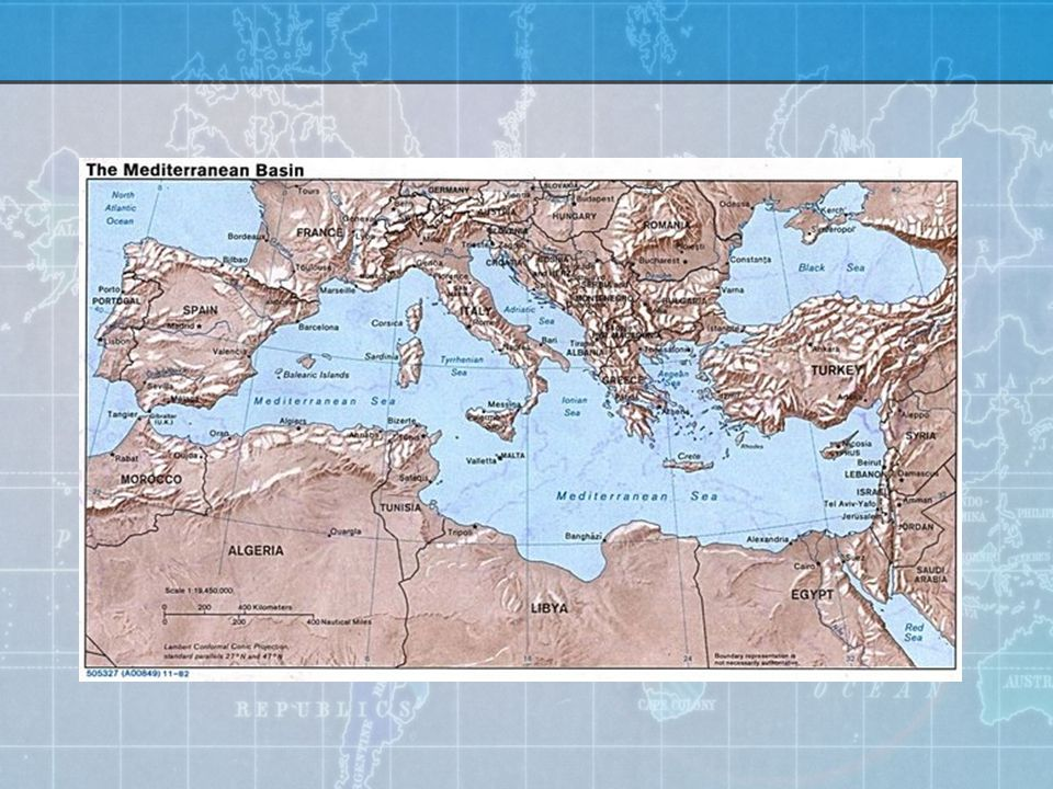 Punic Wars (264-201 B.C.) Goal: domination of Sicily 1 st Punic War: Roman corvus tactics prevail, but Carthage is not destroyed 2 nd Punic War: Hannibal marches through Spain to attack Italy, prompting Mahan to write his hoary volume of naval lore: what if Hannibal had control of the seas and had attacked accordingly.
