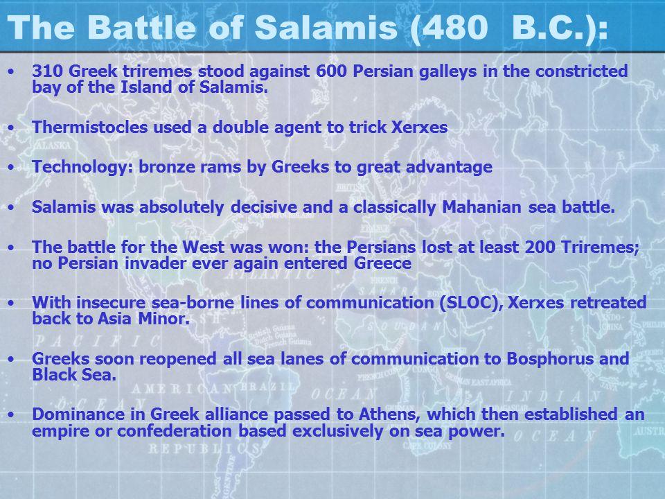 Battle of Salamis – 480 BC: