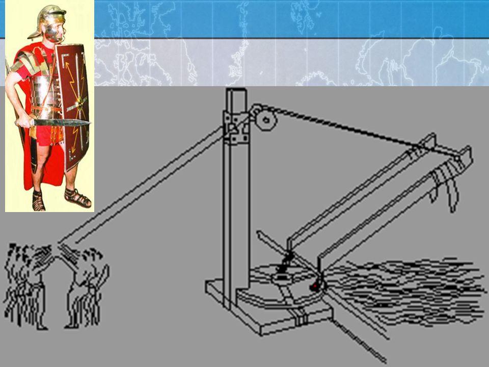 Roman Galley Corvus: Boarding device. - Allowed Roman soldiers to board Carthaginian ships. Corvus