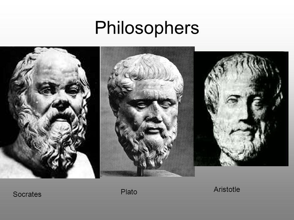 Philosophers Socrates Plato Aristotle