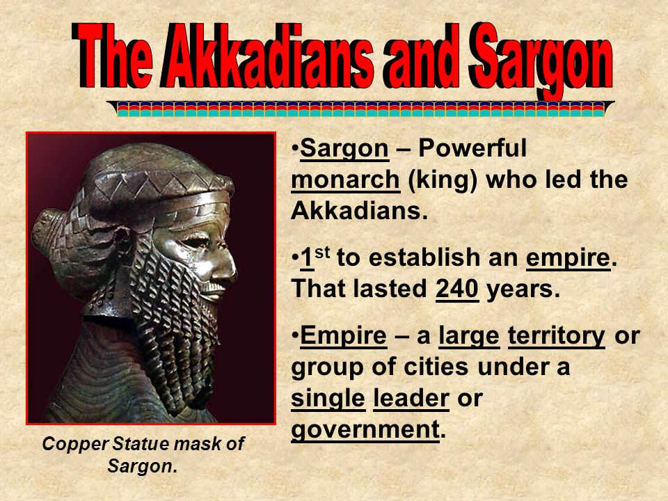 War-like kings of Assyria took over the region around 700 BC.