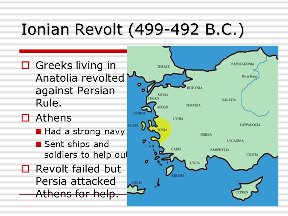 Battle of Marathon  Persians vs.