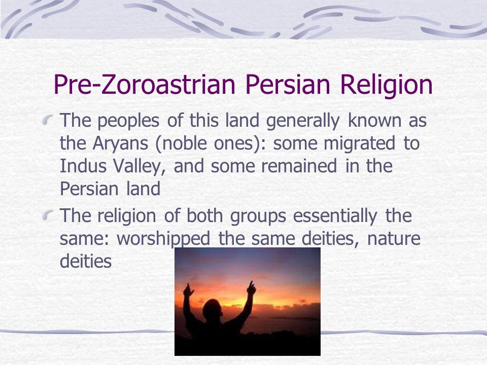 Zoroastrianism Discussion Is this religion purely monotheistic.