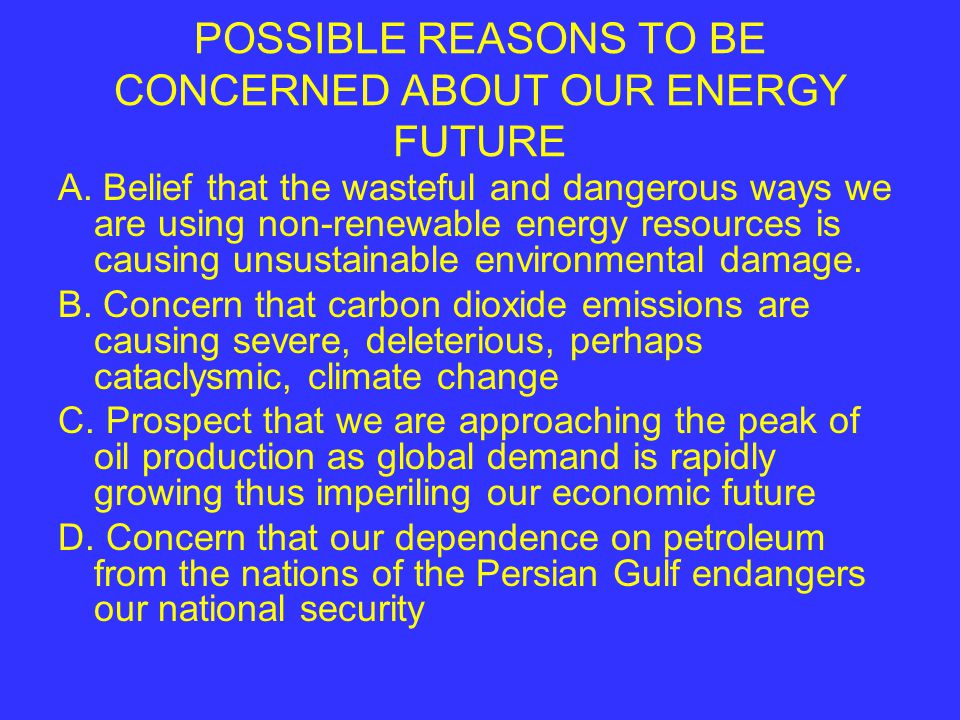 PROVIDE ALTERNATIVE FUELS Ethanol Biodiesel Natural gas Electricity Hydrocarbons from tar sands Hydrocarbons from oil shale Liquid fuel from coal Hydrogen