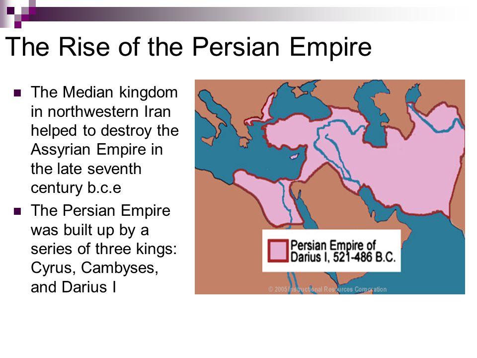The Struggle of Persia and Greece, 526–323 B.C.E.(Early Encounters ) In 499 B.C.E.