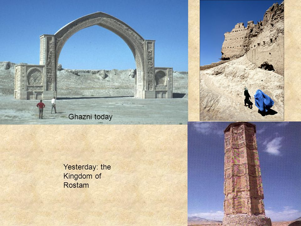 Ghazni today Yesterday: the Kingdom of Rostam