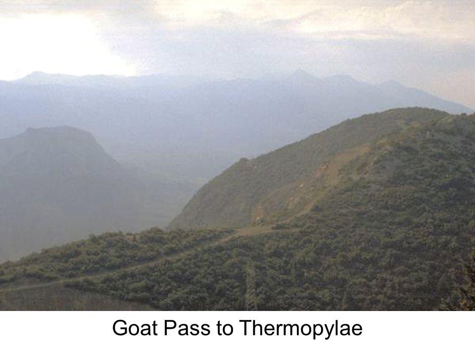 Goat Pass to Thermopylae