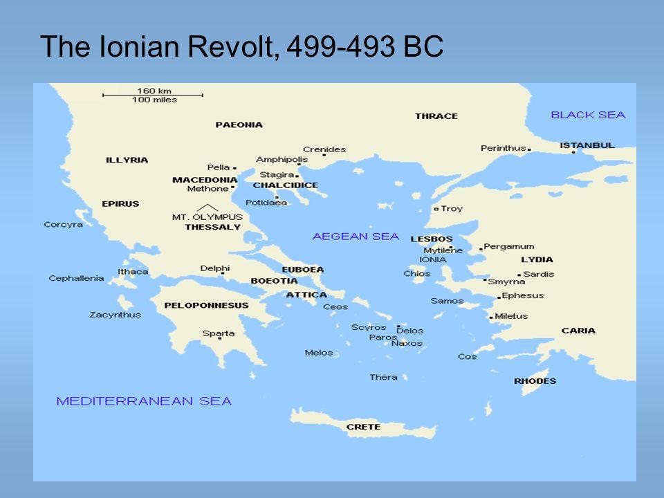 The Ionian Revolt, 499-493 BC