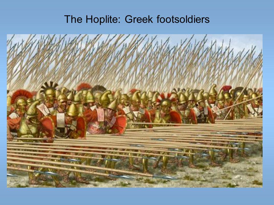 The Hoplite: Greek footsoldiers