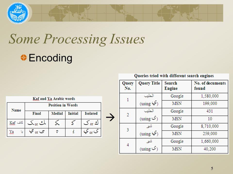  5 Encoding