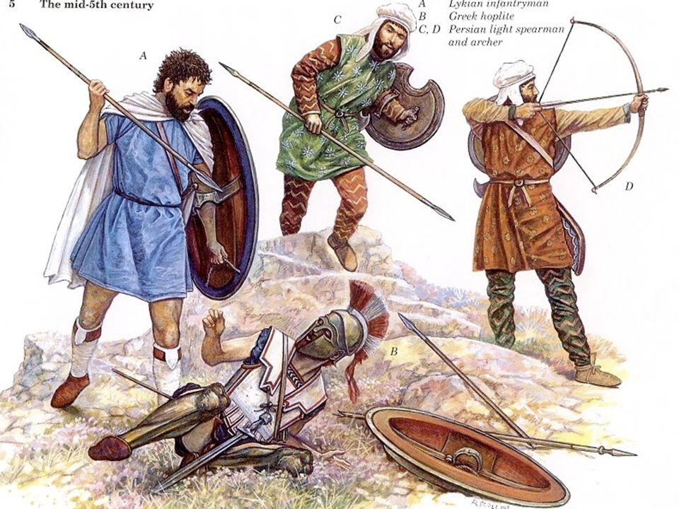 The Athenian army was well-trained and did not break formation as they charged the Persian lines Victory.