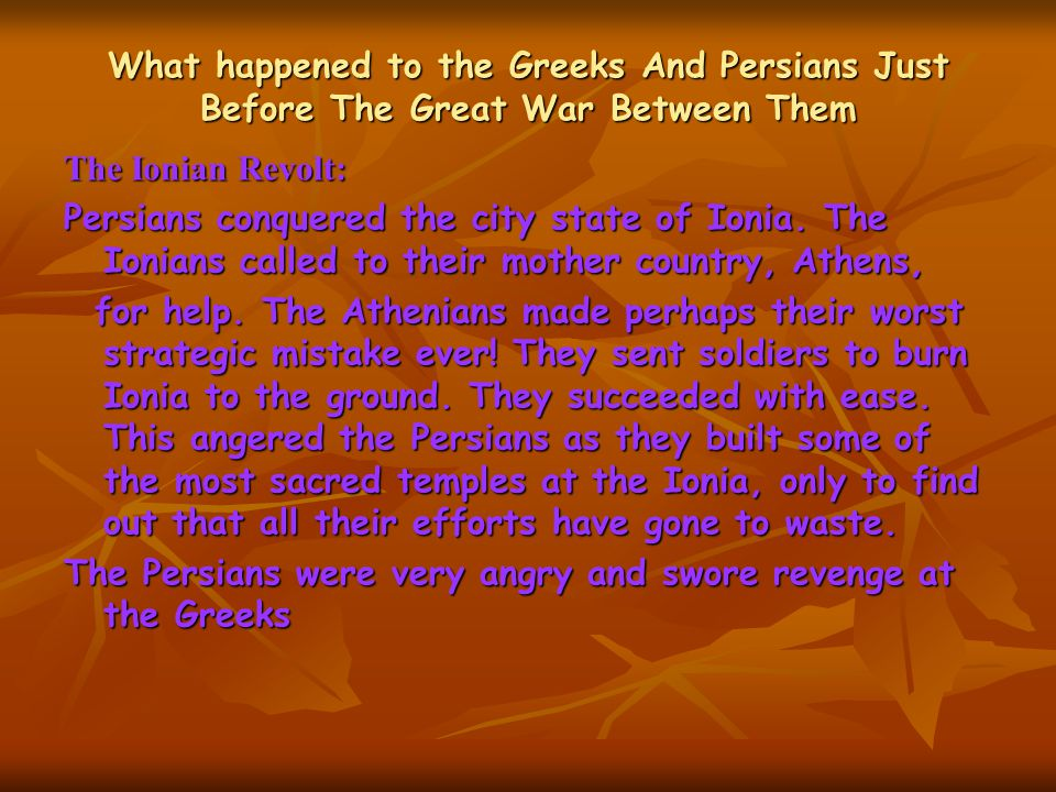 What can we learn from this war The Greeks, especially the Spartans, bravery and resilience.