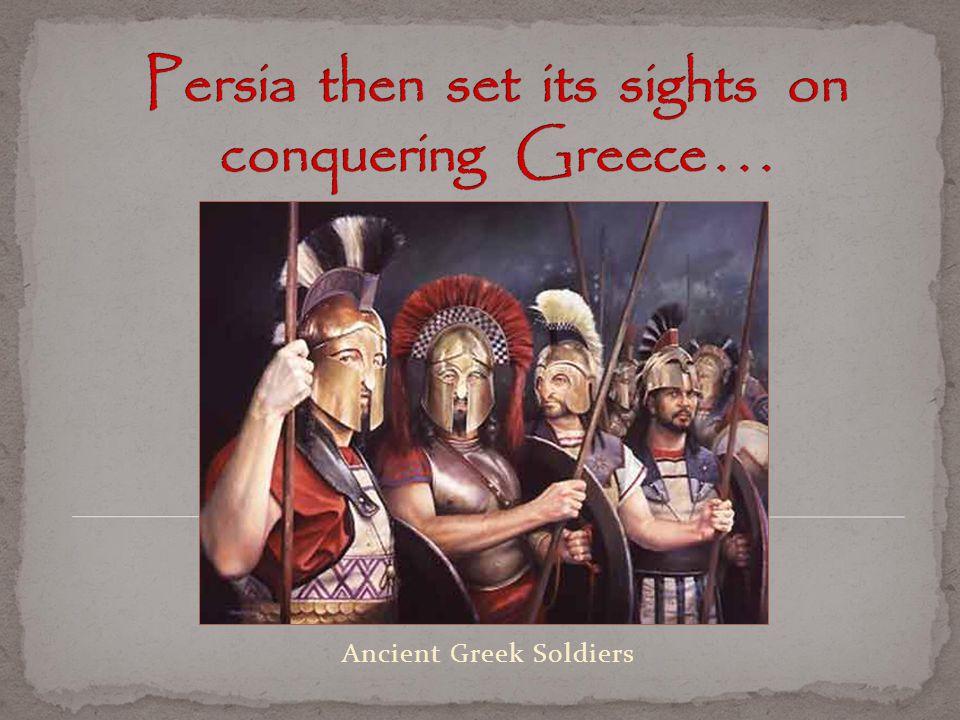 Ancient Greek Soldiers
