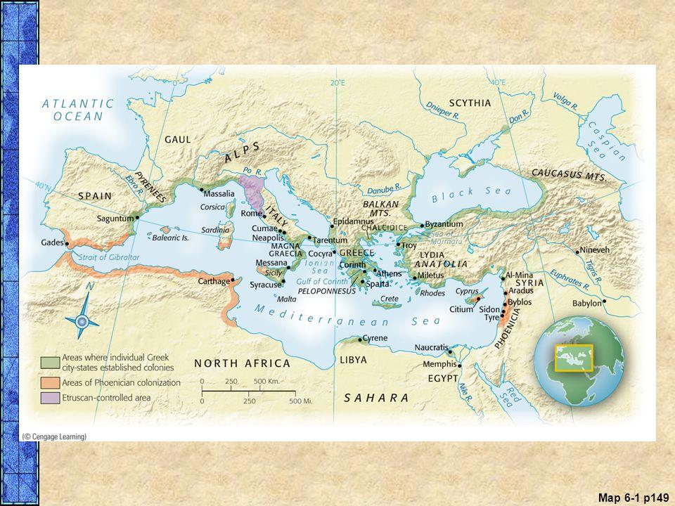 Map 6-1 p149