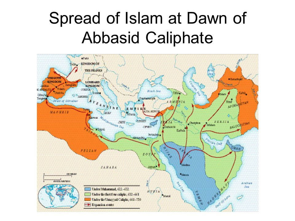 Spread of Islam at Dawn of Abbasid Caliphate