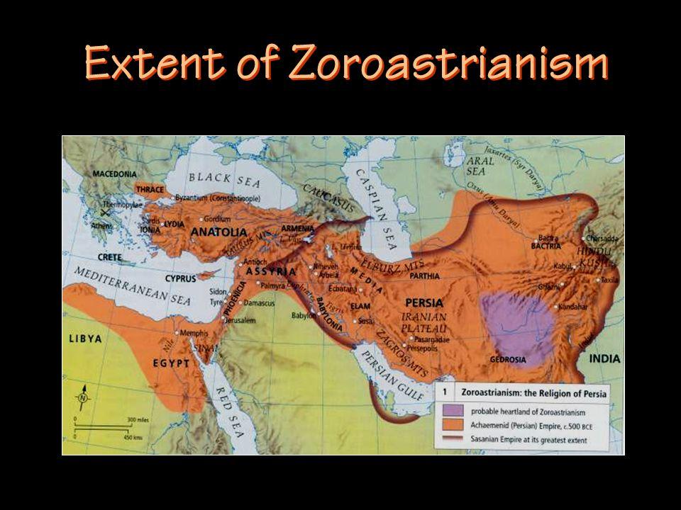 Extent of Zoroastrianism
