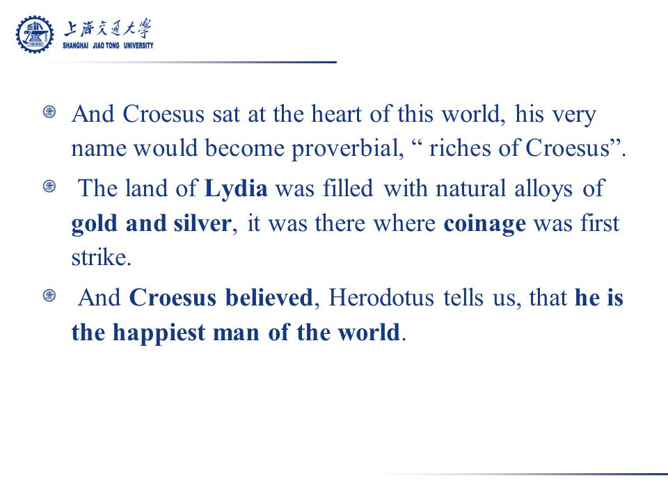 Croesus Receiving Tribute from a Lydian Peasant,