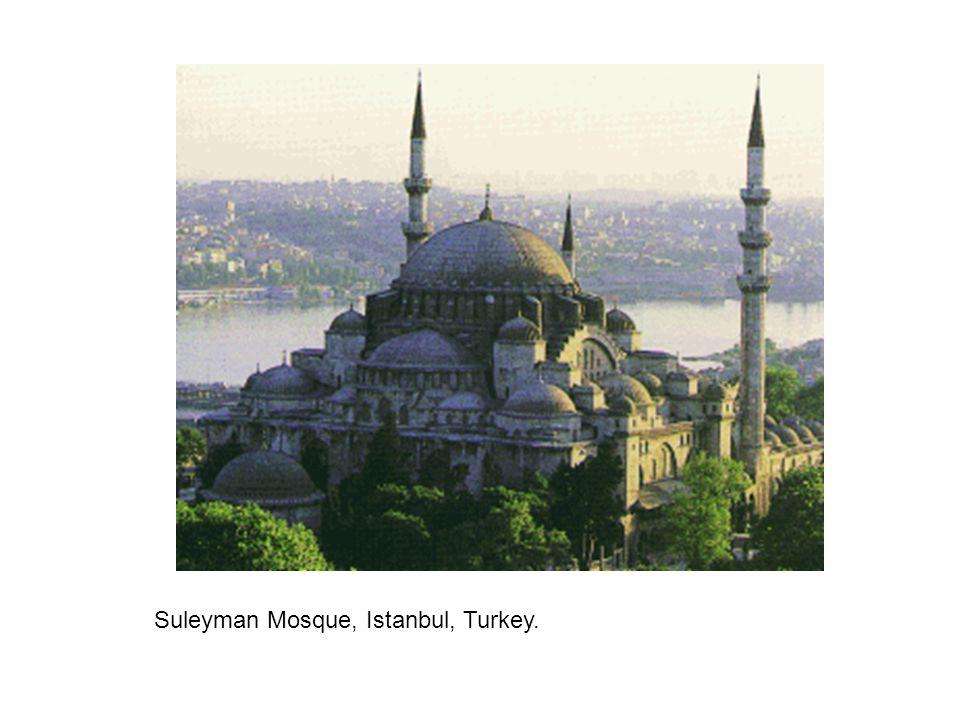Suleyman Mosque, Istanbul, Turkey.