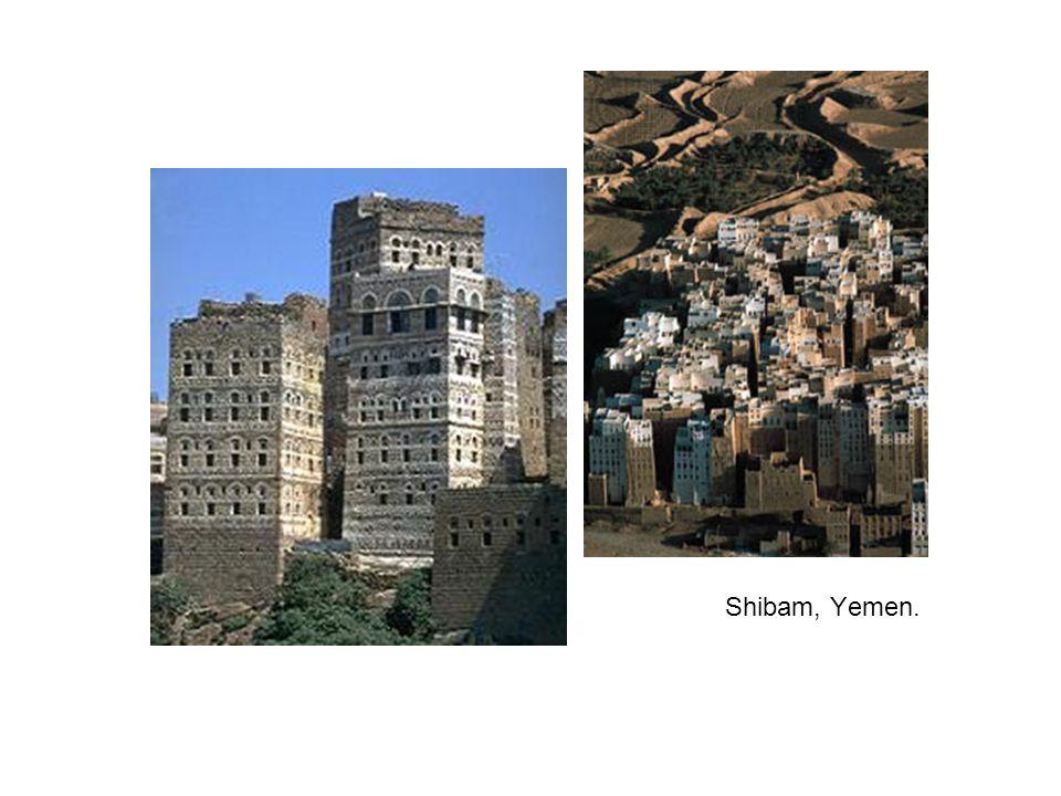 Shibam, Yemen.