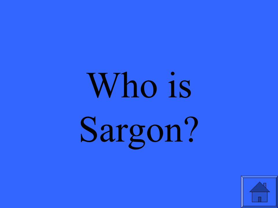Who is Sargon?